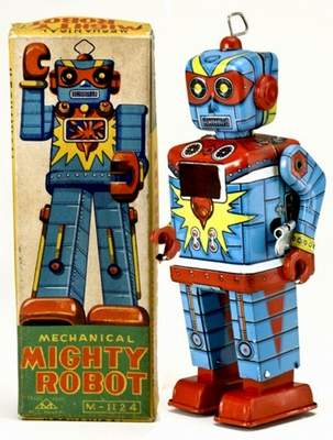 Mechanical Mighty Robot