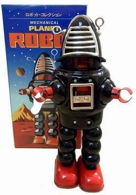 Robby the Robot Black Planet Robot Schylling